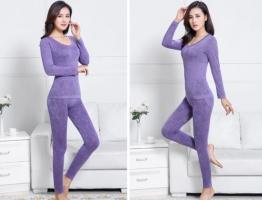 Термобелье женское - светло-фиолетовый_1