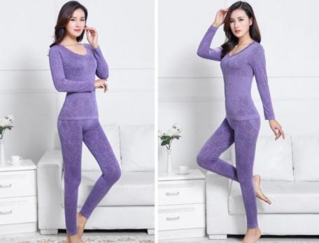 Термобелье женское - светло-фиолетовый