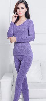 Термобелье женское светло-фиолетовое