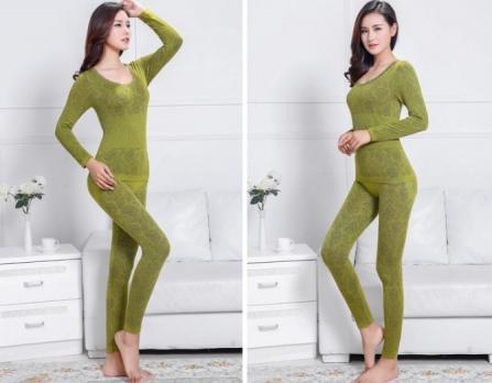 Термобелье женское - зеленый